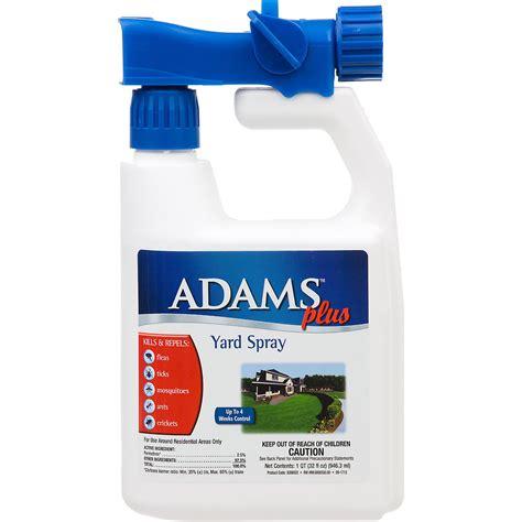 spray for ticks in backyard adams plus flea tick yard spray petco
