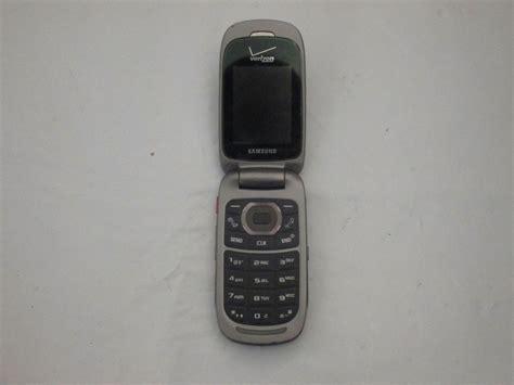 Samsung W Flip Phone Samsung Convoy 2 Sch U660 Cell Flip Phone Verizon Bundle W Battery No Charger Ebay
