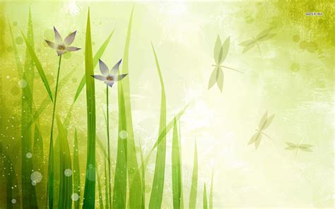 nature grass presentation backgrounds presnetation ppt