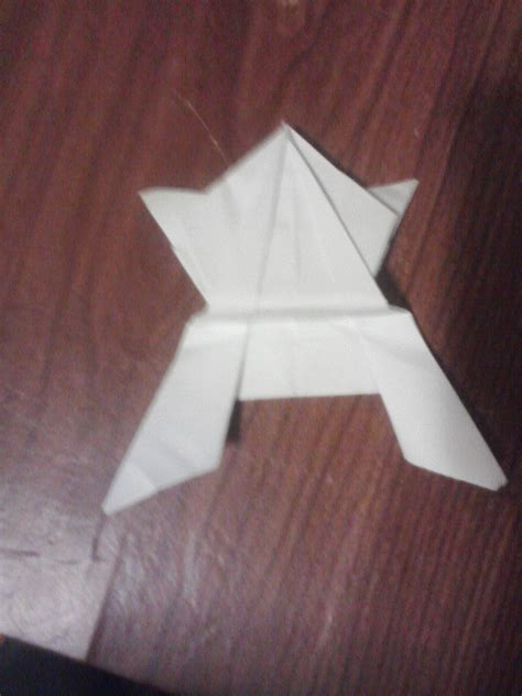 Expert Origami - origami jumping frog all