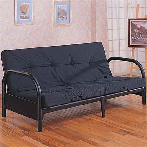 black metal futon frame coaster 2345 black metal futon frame steal a sofa