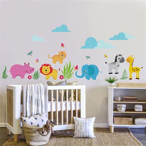 autocollant chambre fille d 233 coration en stickers muraux 40 id 233 es pour la chambre d enfant