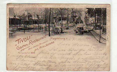 suche garten in magdeburg alte ansichtskarten postkarten antik falkensee