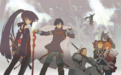 wallpaper anime log horizon log horizon 2013 throwback anime review the magic rain
