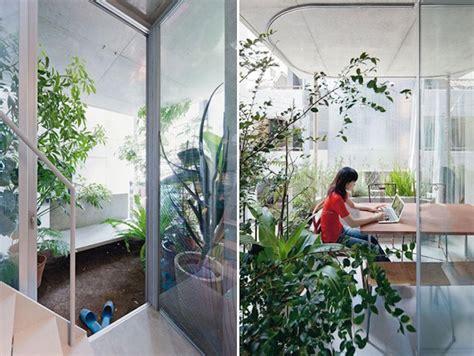 garden inside house ryue nishiziwa s gorgeous vertical garden house takes root