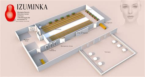 fashion show floor plan raccf announces izuminka a fall fashion expo raccf