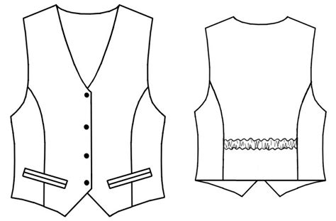 free pattern waistcoat waistcoat sewing pattern 7049 made to measure sewing