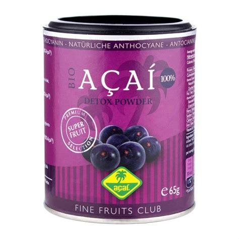 Baby Powder Detox by Fruits Organic Acai Powder Certified Organic Product