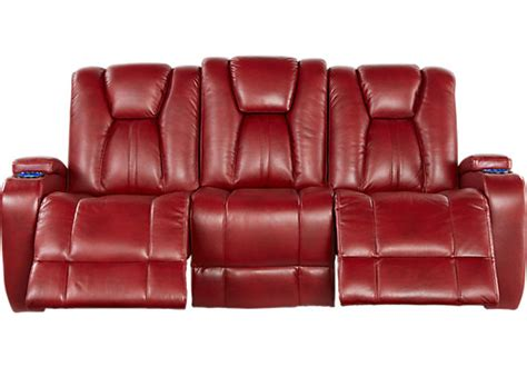 red reclining sofa kingvale red power reclining sofa reclining sofas red
