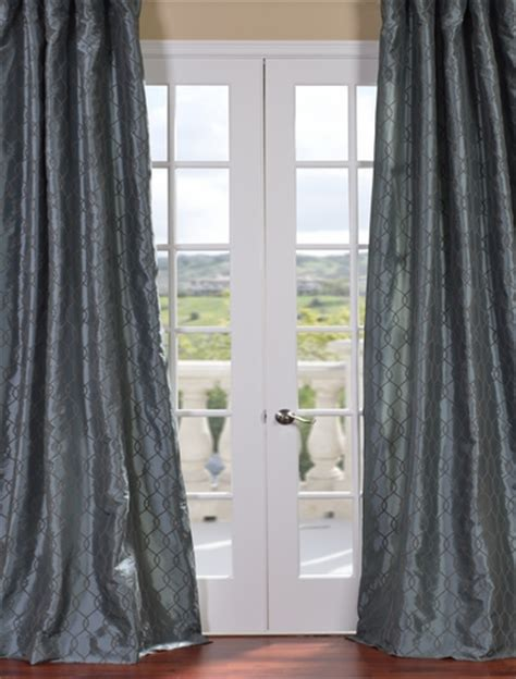 silver and blue curtains shop discount curtains drapes blackout curtains more