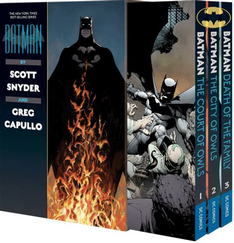batman noir the court of owls books dc reveals snyder capullo batman box set and new comic