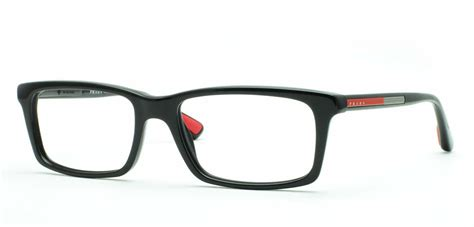 prada linea rossa ps 02cv eyeglasses free shipping
