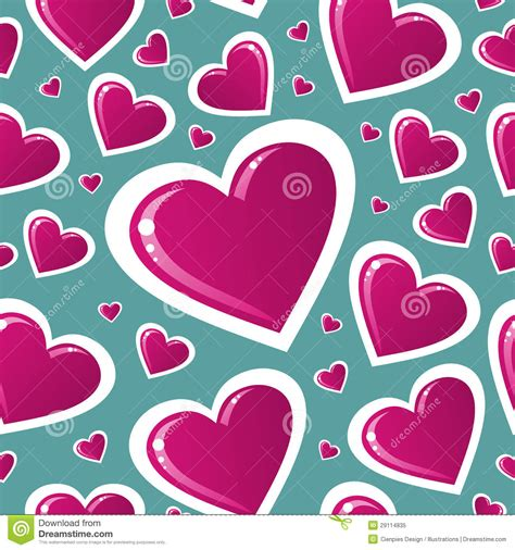 love heart pattern valentine pink love heart pattern royalty free stock photo
