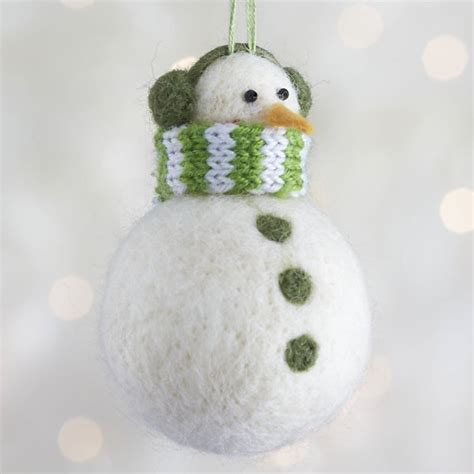 ornaments snowman 20 felt ornaments for a festive tree