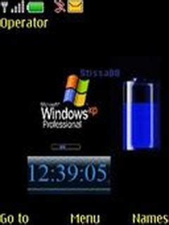 clock themes windows windows xp clock nokia s40 theme
