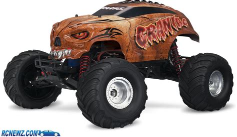 monster jam traxxas trucks traxxas skully and craniac monster trucks rcnewz com