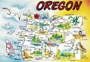oregon large map maps update 16701145 oregon tourist map large tourist