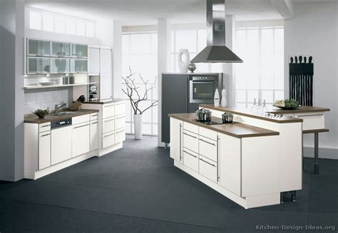 Modern Kitchen With White Cabinets Pictures Of Kitchens Modern White Kitchen Cabinets Kitchen 13
