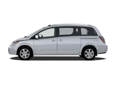 nissan caravan side view 2008 nissan quest reviews and rating motor trend