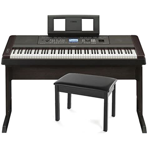 digital piano stand and bench yamaha dgx 650b 88 key weighted digital piano w stand and