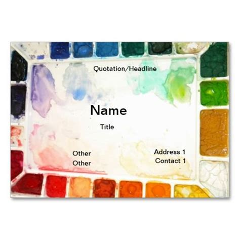 Painter Business Card Template by 199 Best Images About Painter Business Cards On