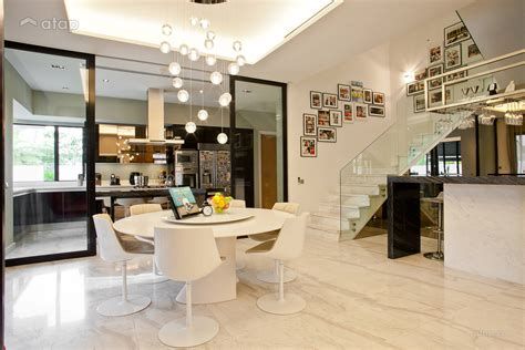 contemporary modern dining room kitchen semi detached