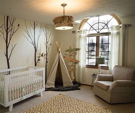 Woodlands Nursery Decor 25 Best Ideas About Nature Themed Nursery On Pinterest Baby Room Boy Mobile And Nursery