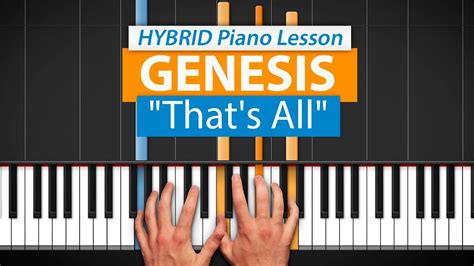 tutorial piano genesis how to play quot that s all quot by genesis hdpiano part 1