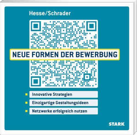 Lebenslauf Muster Hesse Schrader Hesse Schrader B 252 Cher Bewerbung Bewerbungsunterlagen Vorstellungsgespr 228 Ch