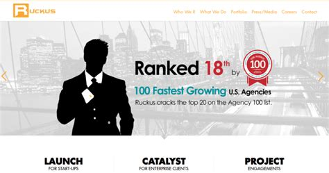 ruckus marketing top web designers 10 best design