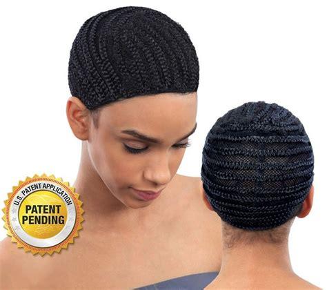 crochet hair look hat patterns shake n go protectif style braided cap for crochet braids