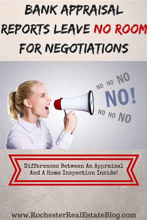 Leave No Room For what s the difference between an appraisal and a home inspection