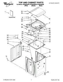 Bearing 6300 Wtw parts for whirlpool wtw6300sb0 washer appliancepartspros