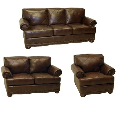 sofa loveseat sofa leather loveseat and leather chair the matching