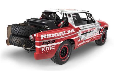 honda ridgeline prerunner 2017 honda ridgeline previewed at sema by desert race truck