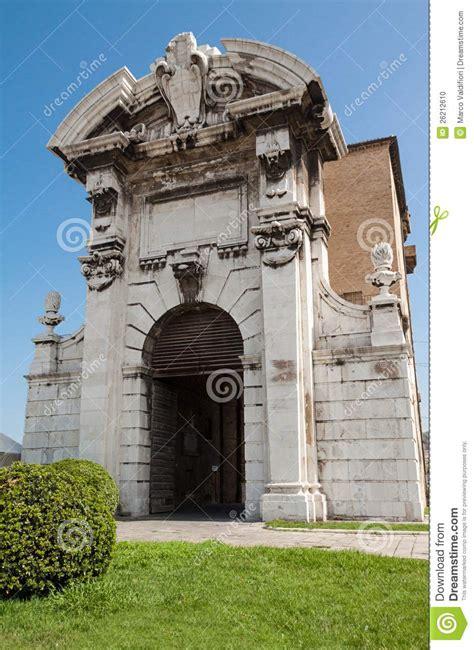 porta pia ancona porta pia in ancona stock photo image 26212610