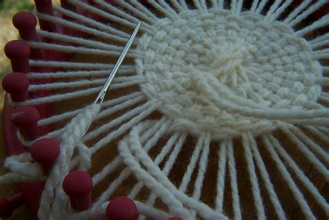 how to knit a flat circle with circular needles loom knitting baby blanket pattern for the blue 22 inch