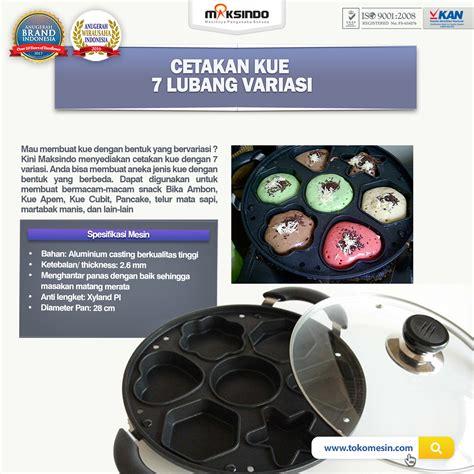Jual Alat Catok Di Jogja jual cetakan kue 7 lubang variasi di yogyakarta toko mesin maksindo yogyakarta toko mesin