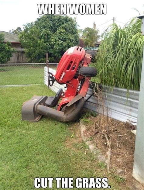 grass cutting quotes women cutting the grass funny humor jokes amp funny pics