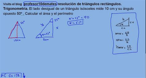 imagenes de razones matematicas resoluci 243 n de tri 225 ngulos rect 225 ngulos trigonometr 237 a 14