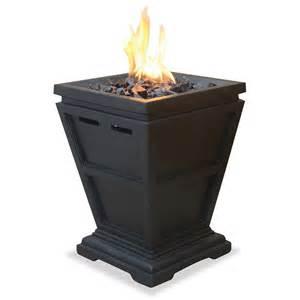 propane gas pits uniflame lp gas column small pit