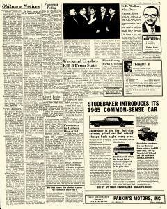 Charleston Gazette Records Charleston Gazette Newspaper Archives Nov 23 1964 P 9