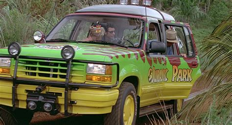 jurassic park car ford explorer cars in jurassic park 1993