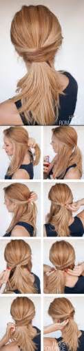 easy hairstyles for waitress s 25 best ideas about simple ponytail hairstyles on