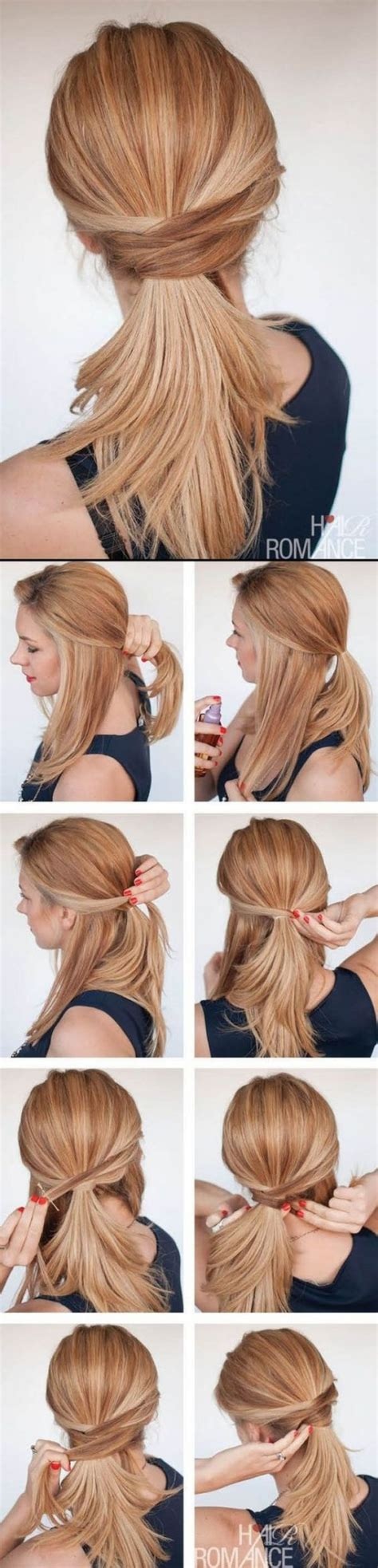 easy hairstyles for 52 yo female profession 25 best ideas about simple ponytail hairstyles on