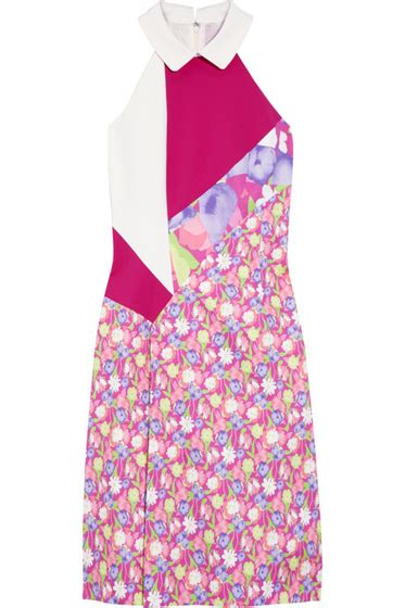 Additions Direct Maxi Dress Giving Gucci And Oprah A Run For Their Money by Versus Patchwork Cotton Blend Dress 8 Fashionable Collared
