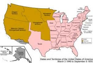 1850 united states map ap history united states 1850 1890
