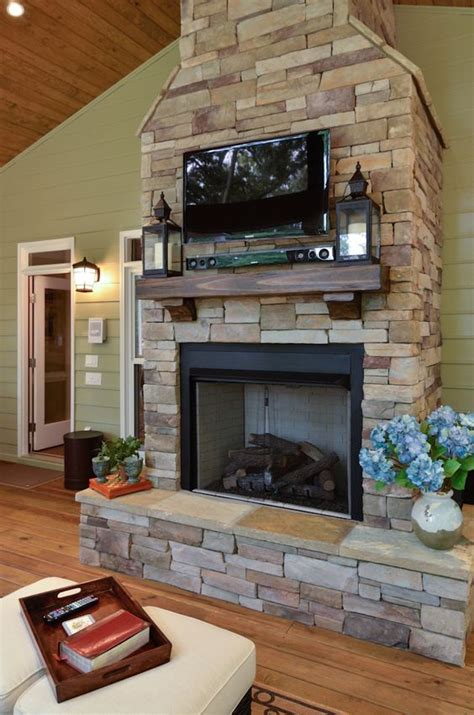 Tv Fireplace Height by Fireplace With Mounted Tv I Would Want To Cover Tv