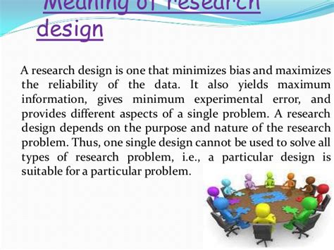 definition of pattern and types ppt on research design