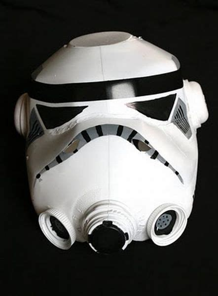 How To Make A Stormtrooper Helmet Out Of Paper - make your own stormtrooper mask damn cool pictures